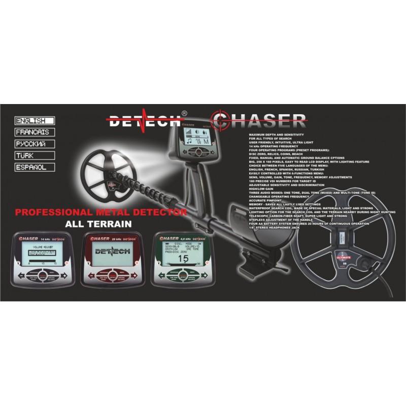 Chaser 14 khz 9 Başlıklı Dedektör