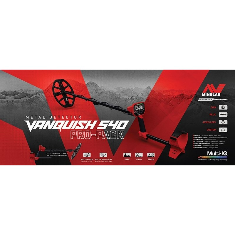 Vanquish 540 Pro Paket